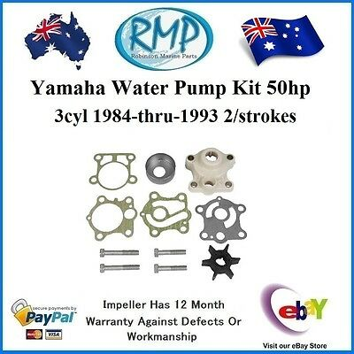 A Brand New Yamaha Water Pump Kit 50hp 1984-1993 # 6H4-W0078-00 + 6J8-44311-00