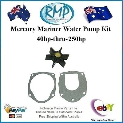 A Brand New Mercury Mariner Water Pump Impeller Kit 40hp-thru-250hp R 47-43026