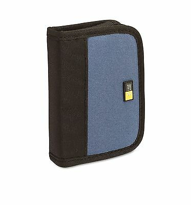 Case Logic JDS-6 USB Drive Shuttle 6-Capacity Black / Blue Zipper Handheld