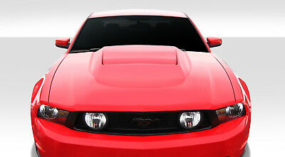 10-12 Duraflex For Ford Mustang Hot Wheels Hood Kit < Auto Body - 1 Piece 10-