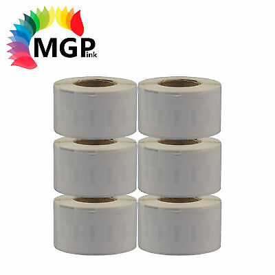 6x Rolls of 99012 Large Address/Shipping label 36mm x 89mm for Dymo LabelWriter