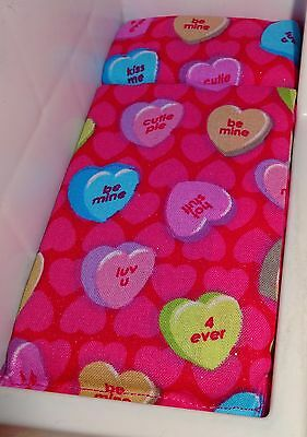 DOLLHOUSE BED MATTRESS for LITTLE TIKES RED, PINK, HEARTS   2ND ITEM SHIPS FREE