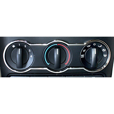 2005-2009 Mustang Chrome A/C Climate Control Air Panel Surround Trim Accent