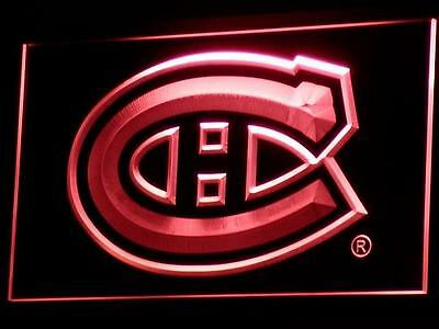 MONTREAL CANADIENS Hockey NR Neon Light Bar Sign BRAND NEW