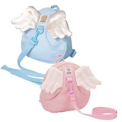 Angel Backpack bag with zipped pocket for Toddlers Kids Children