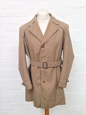"Mens Vintage Dunn & Co Rain Coat/Mac - 46"" Chest Large - Great Condition"