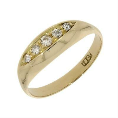 Pre Owned 18ct Yellow Gold Five Stone Diamond Ring CH638