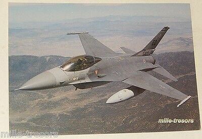 Carte Postale Photo F-16A Fighting Falcon Georges HALL Check 6 AFTER the BATTLE