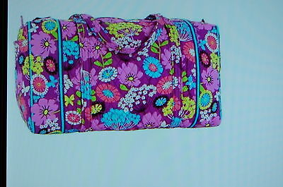NEW WITH TAGS VERA BRADLEY FLUTTERBY   LARGE DUFFEL DUFFLE