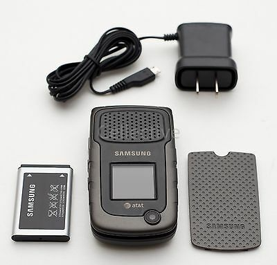 Used Samsung Rugby II 2 Unlocked At&t SGH A847 Black GSM Rugged Cellular Phone
