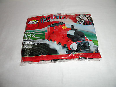 Lego Harry Potter Hogwarts Express Mini Train Engine 40028, NEW, Exclusive