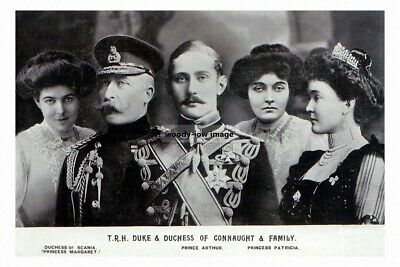 mm978 - Duke & Duchess of Connaught & Family - photo 6x4