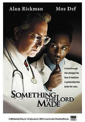 SOMETHING THE LORD MADE - NEW DVD