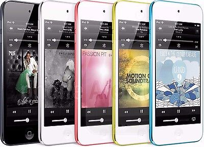 Apple iPod touch 5th Generation 32GB (Blue & Pink & Silver & Yellow & Black) NEW