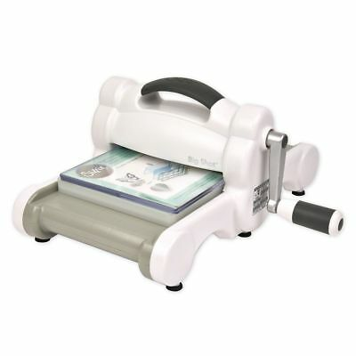 Sizzix Big Shot Maschine (White & Gray) Stanzmaschine Prägemaschine stanzen