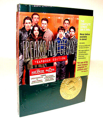 Freaks and Geeks - The Complete Series (DVD, 2008, Yearbook Edition)  **NEW**