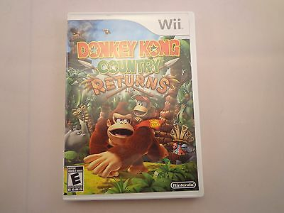 Donkey Kong Country Returns Complete in Box Nintendo Wii DK