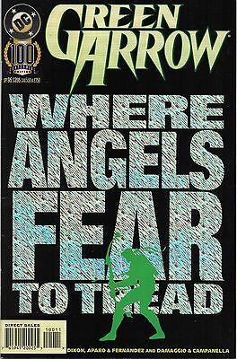 GREEN ARROW # 100 !! KEY BOOK !! DEATH OF OLIVER QUEEN !! SUPERMAN 1995 101 137