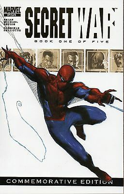SECRET WAR # 1 !2! COMMEMORATIVE EDITION !! 2004 LOW PRINT 2 SPIDER-MAN !!