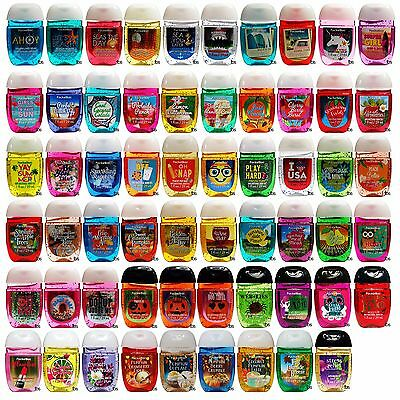 Bath & Body Works New Pocketbac Lot of 6 pcs Sanitizing Hand Gel Assorted Mix