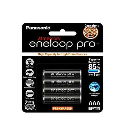 Panasonic Eneloop Pro 950mAh AAA Rechargeable Battery 4 8 12 16 20pcs Sanyo