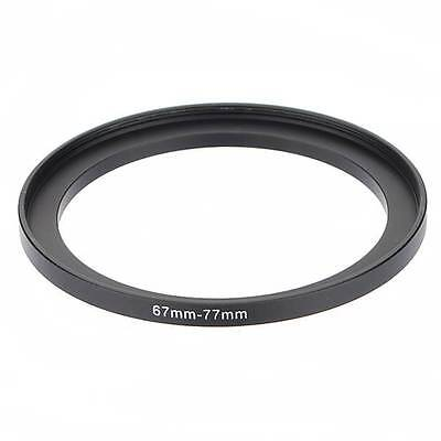 67mm-77mm 67 to 77 67-77mm Metal Step Up Lens Filter Ring Stepping Adapter