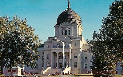 Helena Montana~State Capitol Building, Built 1899~1960 Postcard