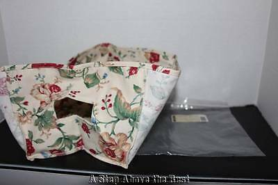 Longaberger Small Storage Solutions Liner in Heirloom Floral #20790156 NEW