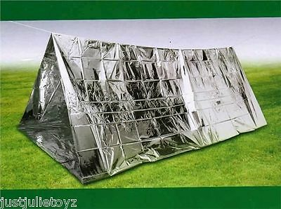 Westhill Emergency Outdoor Survival Thermal Shelter Tent 6M Cord Hiking/camp
