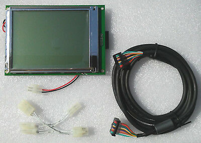 Dresser Wayne 892131-001 / WU000948 Ovation QVGA LED display 5.7 inch, 2 cables