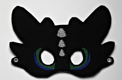 Handmade Kids Mask - Toothless Dragon - How to Train Your Dragon