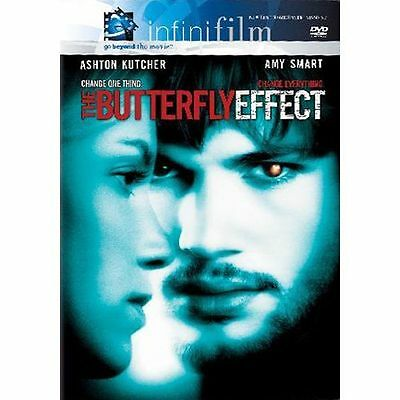 The Butterfly Effect DVD 2004 Infinifilm Theatrical Release and Director's Cut