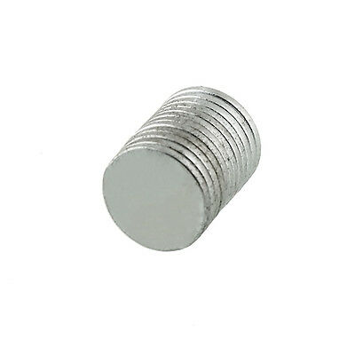 New Useful 10pcs Round Super Strong Magnets Rare Earth Neodymium DIY 10x1mm