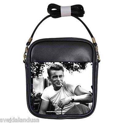JAMES DEAN AMERICA'S REBEL Leather Sling Bag Small Purse