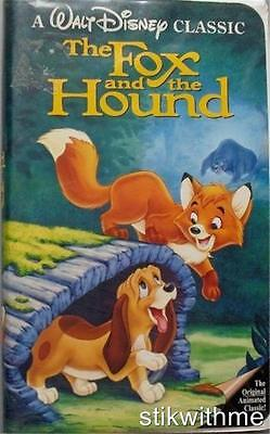 Disney The Fox and the Hound (VHS, 1994) Clamshell ~ Original Animated CLASSIC