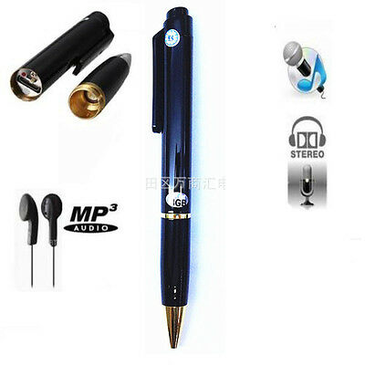 Mini Rechargeable USB 8GB Digital SPY Hidden sound Voice Recorder RECORD Pen