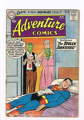 Adventure Comics # 270 the Stolen Identities ! Aqualad grade 4.0 scarce hot !!
