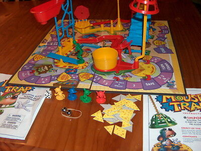 Milton Bradley Mouse Trap Board Game COMPLETE 2005