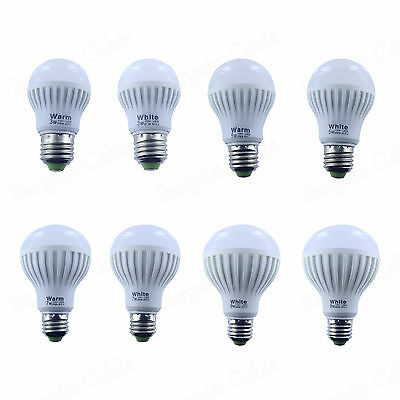 3W 5W 7W 9W 12W E26 Dimmable/Non Dimmable 110V Warm / Cool White LED Light Bulb