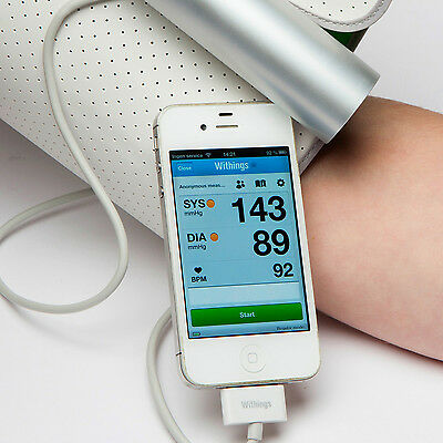 Withings Blood Pressure Monitor Wireless  for Apple iOS Android Bluetooth WPM02