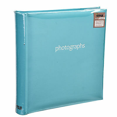 Blue Photo Album Slip In  4' x 6' 200 Holds With Memo Area Ideal gift -SM200BE