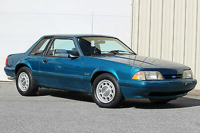 Ford : Mustang LX 1993 mustang 5.0 l lx notchback police reef blue ssp unmarked highway patrol