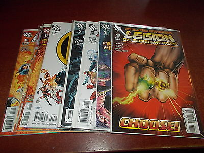 Lot of 17 Different Legion of Super-Heroes #1-16 + Annual #1 DC 2010-11 Comic