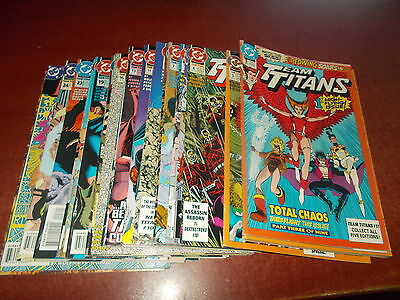 Lot of 28 Different Team Titans #1-28 DC 1992 Comic Book Collection NICE LOOK!