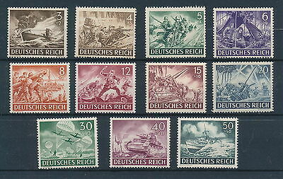 [71256] Germany 1943 good lot Very Fine MNH stamps