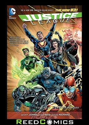JUSTICE LEAGUE VOLUME 5 FOREVER HEROES GRAPHIC NOVEL New Paperback #24-29
