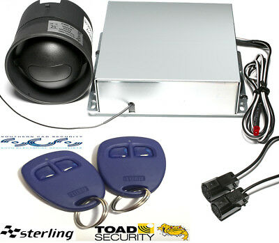 Toads,Sterling One Thatcham Cat 1 Car Van alarm,install certificate, tec support