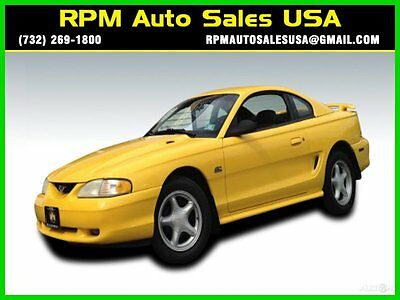 Ford : Mustang GT 94 mustang gt 5 speed manual low miles yellow power seats windows nj ny pa ct