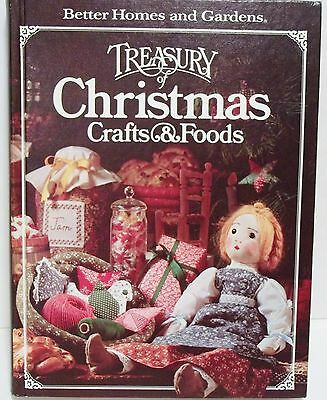 Better Homes and Gardens Treasury Christmas Crafts and Foods Hobbies Recipes