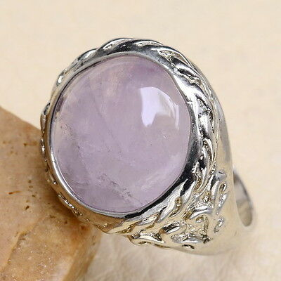 EXCELLENT! NATURAL AMETHYST GEMSTONE RING JEWELRY SIZE 10